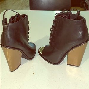 Kenneth Cole reaction booties .